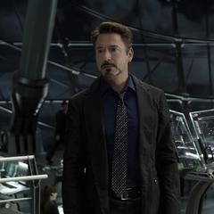Stark en el Helicarrier de S.H.I.E.L.D.