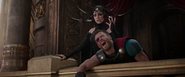 Hela subdues Thor