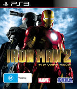 IronMan2 PS3 AU cover