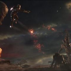 Korg y Quill hacen equipo contra los Sakaarianos.