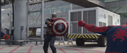 Captain America pulls Spider-Man
