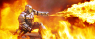Iron Man Mark I Flamethrower 2