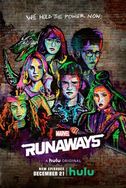 Runaways - Poster de la segunda temporada