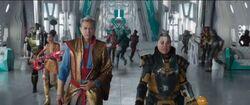 Thor Ragnarok-Grandmaster&TopazTalkabouttheRevolution
