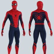 CACW Concept Art Spidey Suit 2