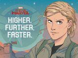 Captain Marvel: Higher, Further, Faster.