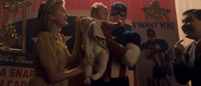 Captain America with Crying Baby