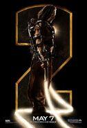 Iron Man 2 Whiplash IMAX Poster