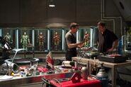 On set Iron Man 3 04