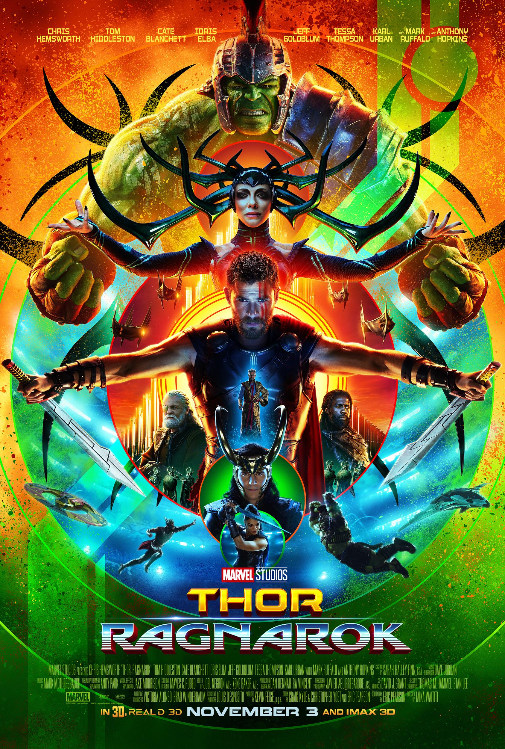 póster de la película Thor, Ragnarok
