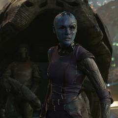 Nebula localiza a Gamora en Knowhere.