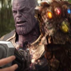 Thanos decide abandonar la Tierra.