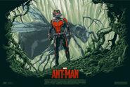 Ant-Man Mondo poster 1