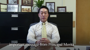 Important Message from Principal Morita (Deleted Scene)