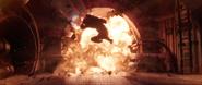 Hawkeye explosion