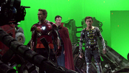 Iron Man, Doctor Strange & Spider-Man (AIW BTS)