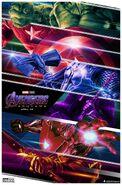 Avengers Endgame Weapons Poster