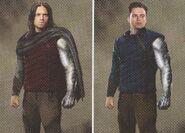 Avengers Infinity War Winter Soldier concept art 6