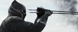BP catching Explosive Arrow