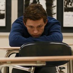 Parker sentado durante su detención.