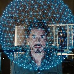 Stark descubre el secreto de la maqueta.