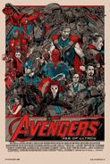 Avengers Age of Ultron Tyler Stout poster 1