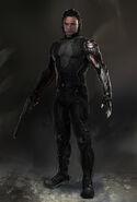 Captain America The Winter Soldier 2014 concept art 27