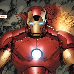 Stark llega para interceptar a los terroristas.
