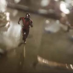 Lang llega a la pelea con un nuevo Traje de Ant-Man.