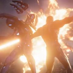 Potts se une a Stark para acabar con sus enemigos.
