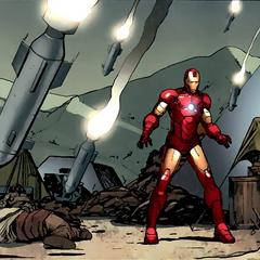Stark frente al armamento de los terrorists.