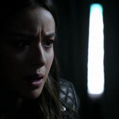 Skye es testigo de que Ward ha matado a Nash.