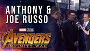 The Russo Brothers and Jeffrey Ford Live at the Avengers Infinity War Premiere