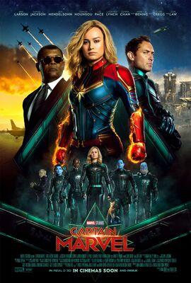 Captain Marvel (international poster) - 00