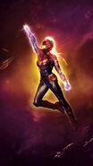 Captain Marvel IMAX Textless Poster