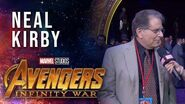 Neal Kirby Live at the Avengers Infinity War Premiere