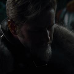Fandral deduce que Thor iniciará una lucha.