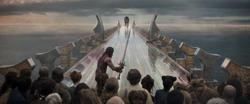 Heimdall vs. Fenris (Rainbow Bridge)