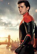 Peter Parker FFH Textless Poster