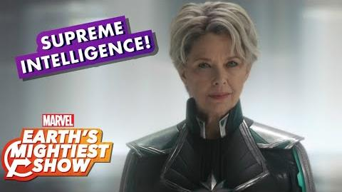 "Annette Bening Talks ""Supreme Intelligence"" in Marvel Studios' Captain Marvel"