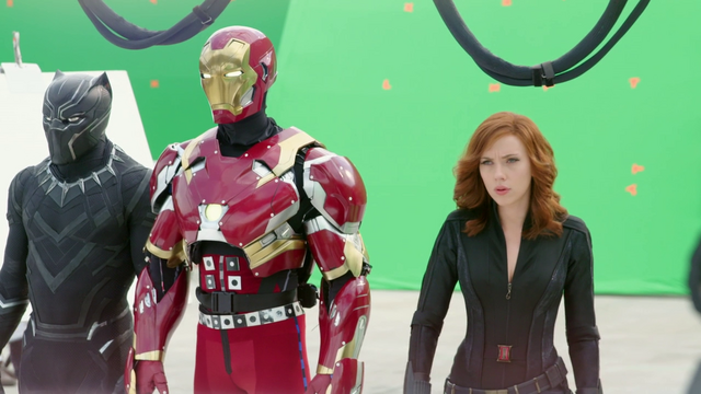 File:Black Panther, Iron Man & Black Widow (The Making of CACW).png
