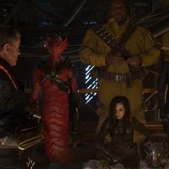 Stakar reúne a su antiguo equipo.