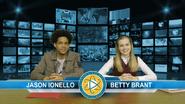 Jason Ionello & Betty Brant (Midtown News Anchors)