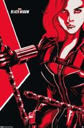 Marvel's Black Widow - PromoArt
