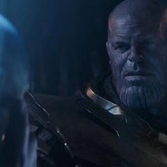Thanos perdona a Nebula por la traición de su versión alterna.
