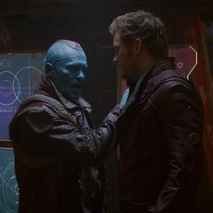 Udonta y Quill se asocian para salvar Xandar.