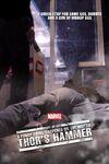 Curta Marvel martelo do Thor