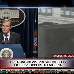 Ellis habla sobre el incidente en Lagos.