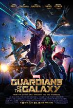 Guardianes de la Galaxia Poster en Ingles