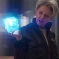 La Inteligencia Suprema la agradece a Danvers haber capturado a los Skrulls.